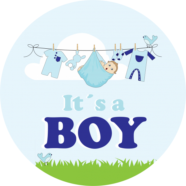 Tortenaufleger It´s a boy