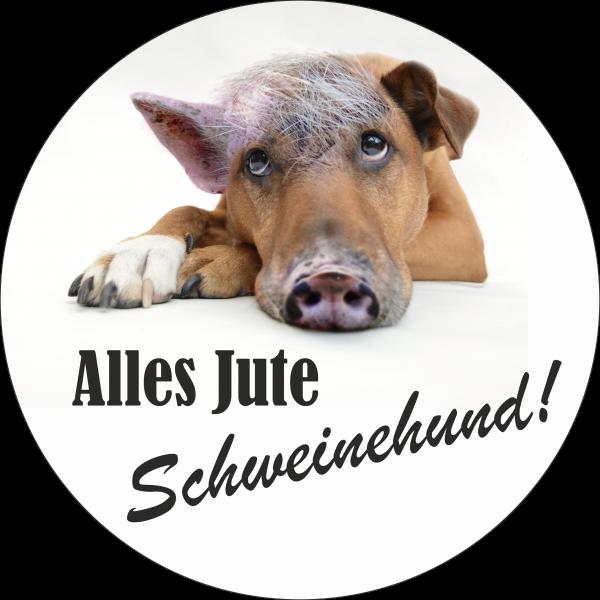 Tortenaufleger Schweinehund